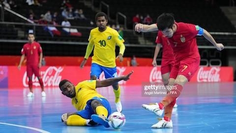 Thái Lan nối gót Việt Nam vào vòng 1/8 futsal World Cup 2021