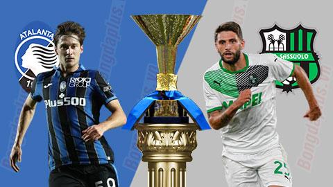 Nhận định bóng đá Atalanta vs Sassuolo, 01h45 ngày 22/9
