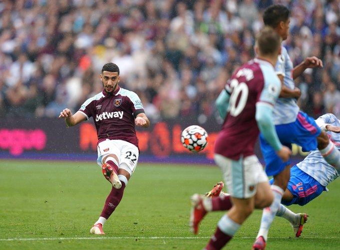 Bàn mở tỷ số trong trận West Ham vs Man United