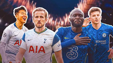 Trực tiếp Tottenham vs Chelsea, 22h30 ngày 19/9