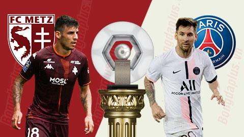 Nhận định bóng đá Metz vs PSG, 02h00 ngày 23/9: Nổ súng đi, Messi!