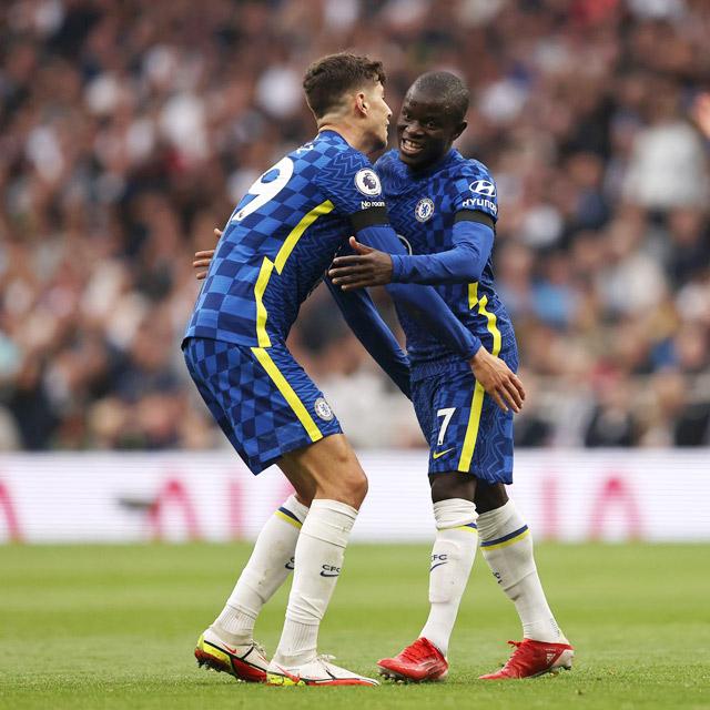 Kante vào sân trong hiệp 2 và chơi tuyệt vời giúp Chelsea áp đảo toàn diện