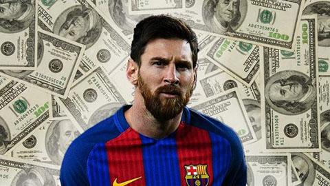 Barca trả giá đắt vì để mất Messi