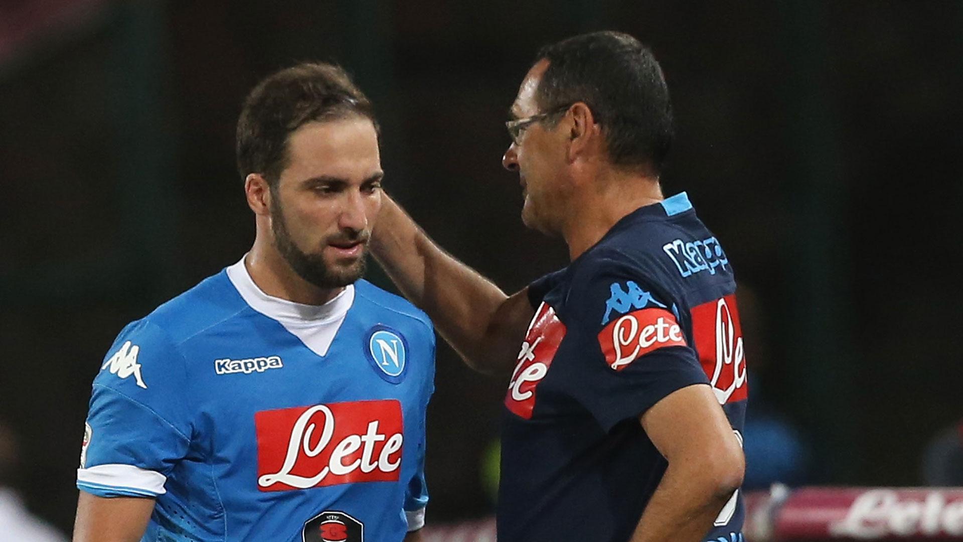 Maurizio Sarri đặc biệt ưu ái Gonzalo Higuain