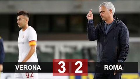 Kết quả Verona vs Roma: HLV Mourinho thua trận đầu tiên ở Serie A mùa này