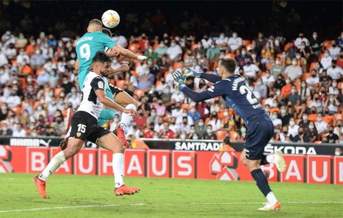Kết quả Valencia 1-2 Real: Ngược dòng ấn tượng, Real cân bằng kỷ lục của chính mình