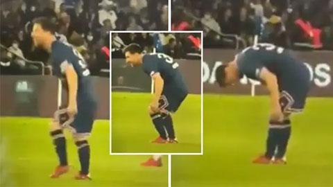 Lộ hình ảnh giải thích lý do HLV Pochettino thay Messi ở trận PSG thắng Lyon