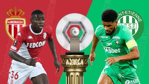 Nhận định bóng đá Monaco vs Saint-Etienne, 0h00 ngày 23/9