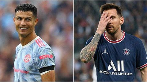 Ronaldo, Messi và hai số phận tương phản khi đổi màu áo