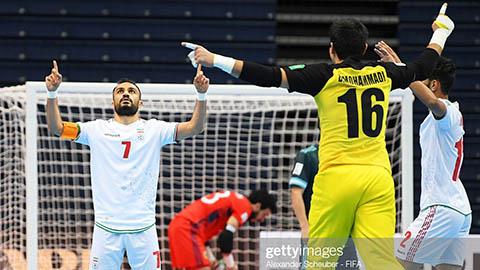Xác định đầy đủ 8 cặp đấu vòng 1/8 VCK FIFA Futsal World Cup 2021