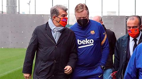 Tương lai của Koeman ở Barca được định đoạt