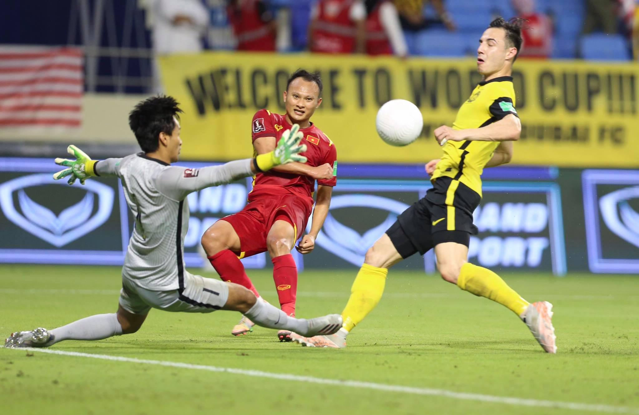 Malaysia được xem là đối thủ số 1 của ĐT Việt Nam ở bảng B AFF Cup 2020 - Ảnh: Minh Anh