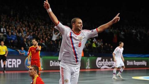 Đâu rồi 'khẩu trọng pháo' Eder Lima của futsal Nga?