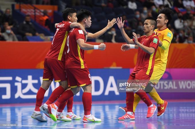 Kết quả ĐT futsal Việt Nam 2-3 Nga: Chia tay World Cup trong tự hào