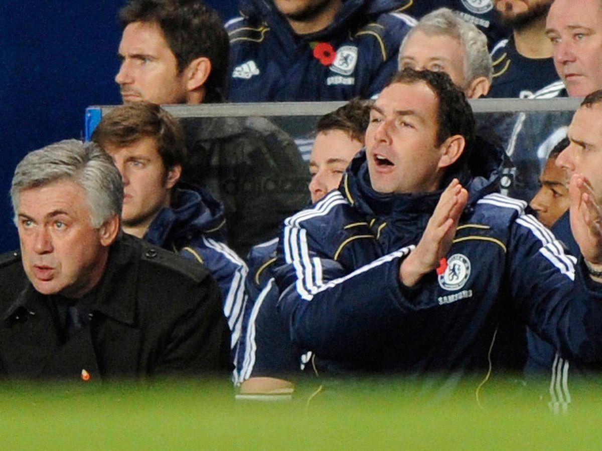 Giai đoạn đỉnh cao của Ancelotti gắn liền với người trợ lý Paul Clement