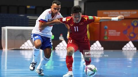 FIFA khen ngợi futsal Việt Nam sau trận đấu với tuyển Nga