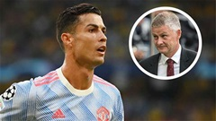 Solskjaer giải thích lý do Ronaldo vắng mặt ở trận MU thua West Ham