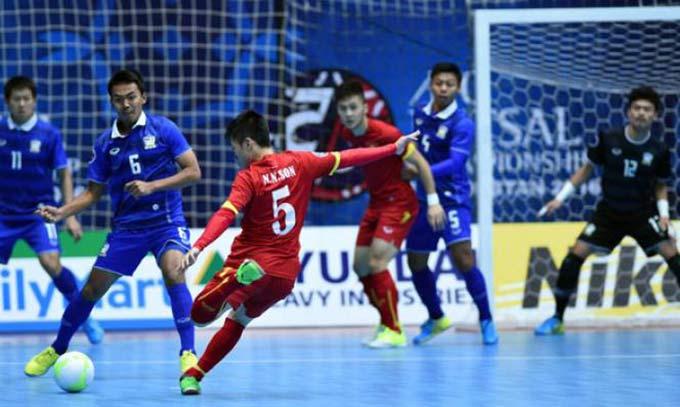 ĐT futsal Việt Nam có thể học hỏi mô hình futsal Thái Lan để tiến bộ hơn nữa trong tương lai
