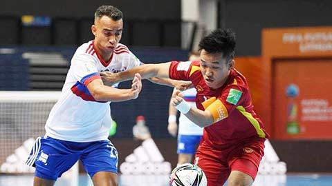 Cầu thủ Nga thừa nhận lo sợ những phút cuối đấu futsal Việt Nam