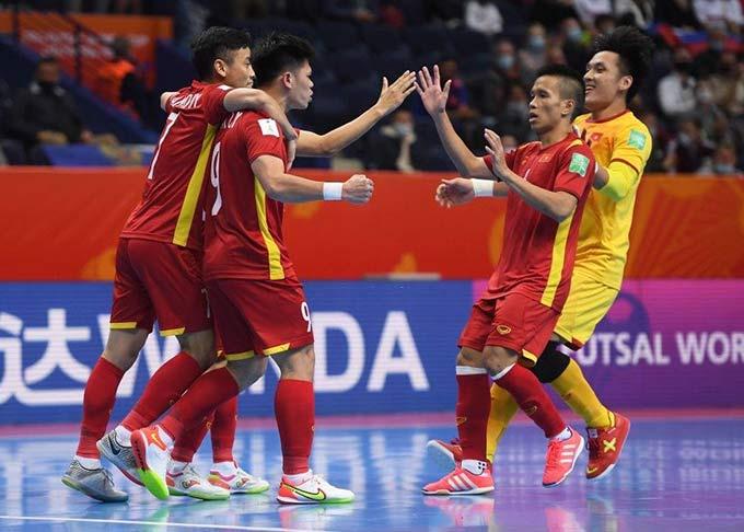 Đắc Huy là một trong số những người hùng của ĐT futsal Việt Nam - Ảnh: Getty
