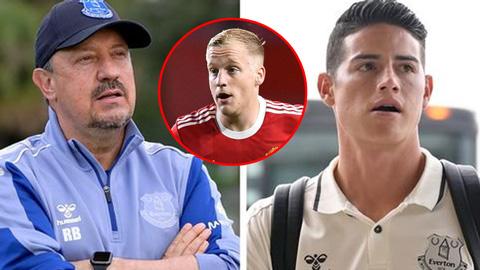 Tin giờ chót 23/9: Everton nhắm Van de Beek thay James Rodriguez