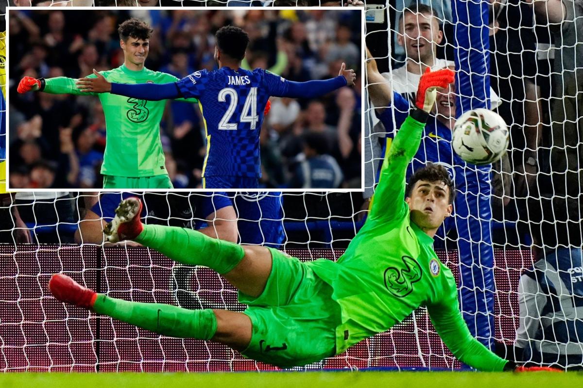 Kepa đã thay thế xuất sắc Mendy trong những trận gần đây của Chelsea