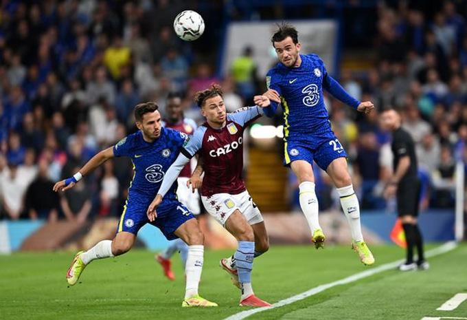 Chilwell lần đầu đá chính cho Chelsea mùa này trước Aston Villa ở Cúp Liên Đoàn