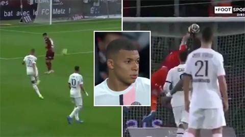 Mbappe gây phẫn nộ với pha chơi bẩn trước Metz