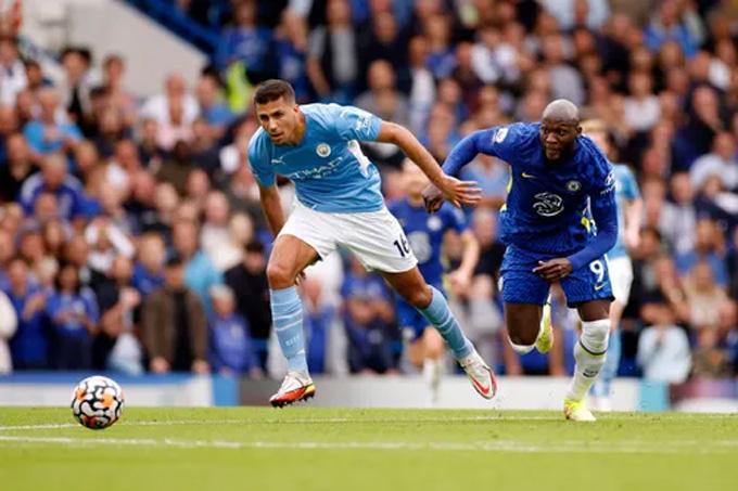 Chelsea và Man City không tạo ra cơ hội nào đáng chú ý trong hiệp 1