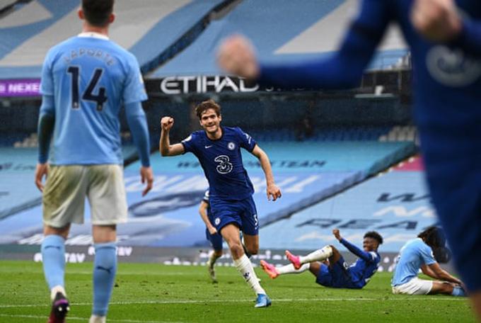 Alonso góp công trong chiến thắng 2-1 của Chelsea trước Man City tại Premier League 2020/21