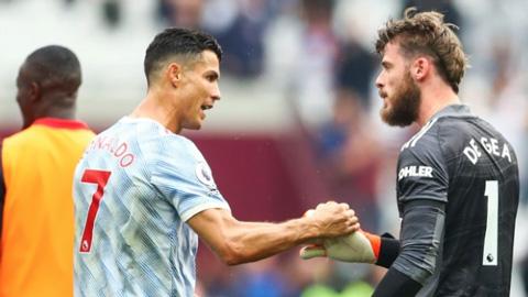 De Gea cảm nhận Man United sẽ giành các danh hiệu nhờ Ronaldo
