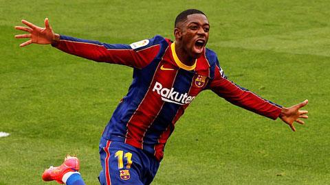Barca chuẩn bị gia hạn hợp đồng với 'siêu bệnh binh' Dembele