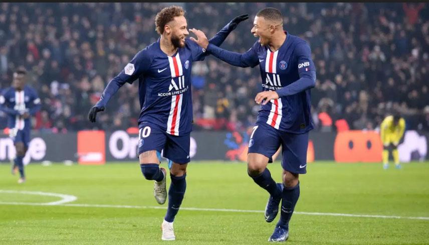 Bộ đôi tấn công Mbappe và Neymar của PSG không dễ xuyên thủng mành lưới của Man City
