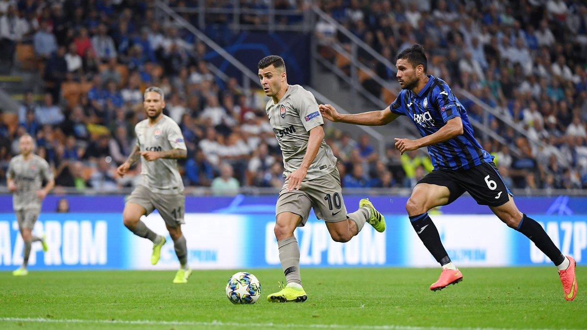 Shakhtar (áo xám) có thành tích ngang bằng trong 8 lần gần nhất gặp các đội bóng Italia ở Champions League.
