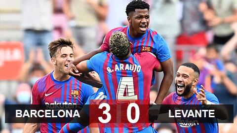 Kết quả Barca vs Levante: Fati tái xuất siêu ấn tượng, Barcelona tìm lại niềm vui chiến thắng mà không cần HLV Koeman