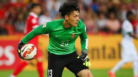 Thủ môn ĐT Trung Quốc từng thủng lưới bởi tiền đạo ĐT Việt Nam bị Park Hang Seo lãng quên