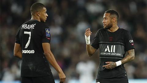 Nội bộ PSG lục đục: Mbappe cáo buộc không được Neymar chuyền bóng