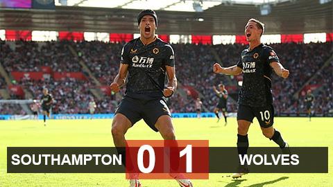 Kết quả Southampton vs Wolves: The Saints chưa biết thắng