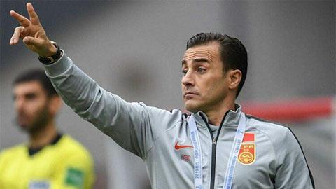 Fabio Cannavaro có thể dẫn Trung Quốc đấu ĐT Việt Nam