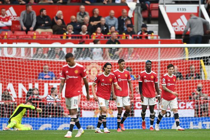 Man United đã để thua 3/4 trận gần nhất