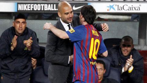 Muốn vô địch Champions League, Guardiola phải vượt qua cái bóng của Messi