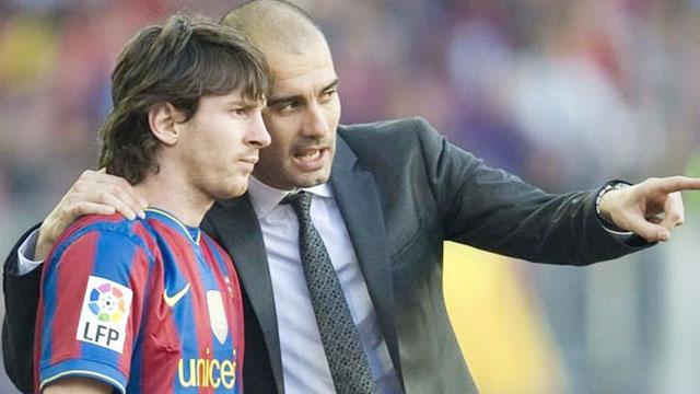 """Guardiola là người đã tạo ra """"quái vật"""" Messi"""