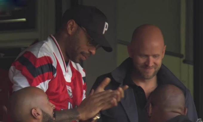 Henry đang hỗ trợ Daniel Ek mua lại Arsenal?