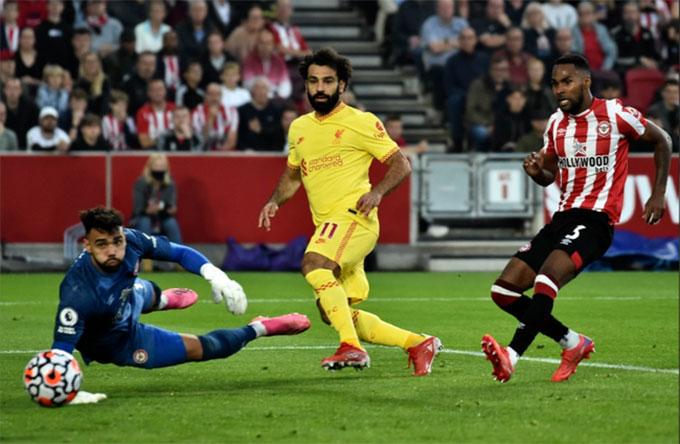 Salah đã có 100 pha lập công cho Liverpool ở Premier League