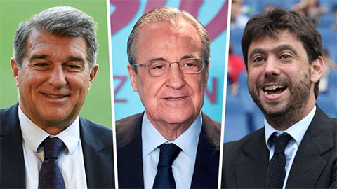 UEFA chịu thua Barca, Juventus, Real vụ Super League