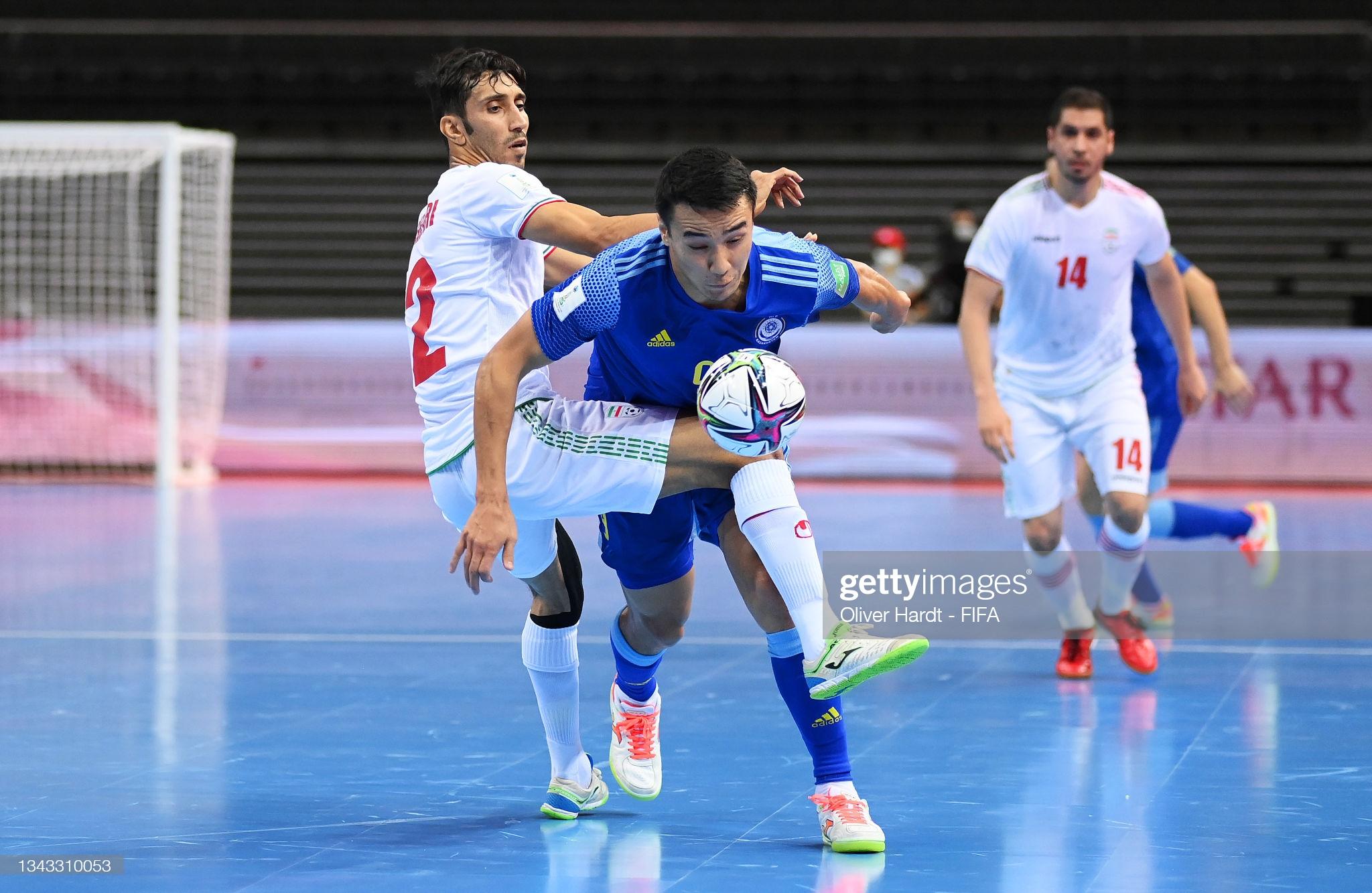 Dù bị đánh giá thấp hơn nhưng Kazakhstan đã có màn trình diễn quật khởi để đánh bại Iran, giành quyền vào chơi bán kết FIFA futsal World Cup 2021