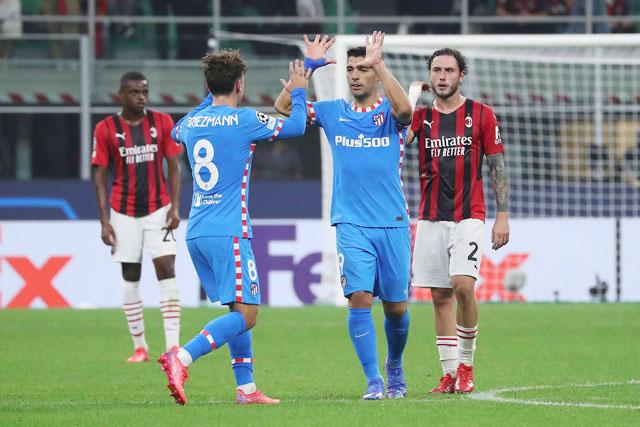 Milan chưa giành được điểm nào sau 2 trận ở vòng bảng Champions League