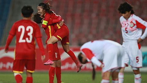 Thắng đậm Tajikistan, ĐT nữ Việt Nam giành vé dự VCK Asian Cup 2022