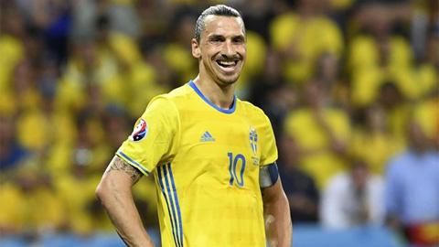 Ibrahimovic trở lại ĐT Thụy Điển ở tuổi 40