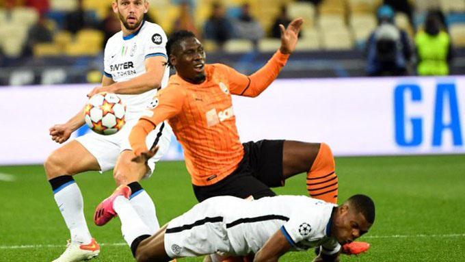 Inter rất cố gắng nhưng không thể giành chiến thắng trước Shakhtar